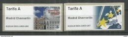 ATM MADRID CHAMARTIN 2018 MODELO CASA CORREOS Y EUROPA TARIFA  A - 1931-Hoy: 2ª República - ... Juan Carlos I