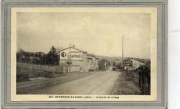 CPA - REVENTIN-VAUGRIS (38) - Aspect De L'entrée Du Bourg En 1939 - Pub Quinquina - Francia