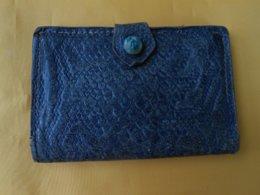 Portefeuille - Porte Monnaie Ancien Cuir 11,5 X 7,5 Cms - - Purses & Bags