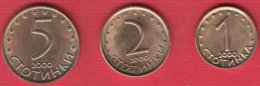 0,01 0,02 0,05 Lv - Bulgaria 2000 Year - Bulgarije