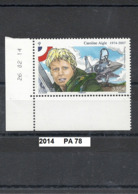 Poste-Aérienne De 2014 Neuf** Y&T N° PA 78 Caroline Aigle - Poste Aérienne