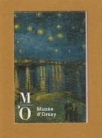 """Ticket D'entrée - PARIS - Musée D' Orsay - Tableau """"La Nuit étoilée"""" De Vincent Van Gogh - 2 Scannes. Recto & Verso - Tickets D'entrée"""