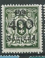 Dantzig  -  Yvert N° 144 *   -  Ava 27804 - Dantzig