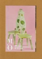"""Ticket D'entrée - PARIS - Musée D' Orsay - """"Paire De Chaises"""" De Yrjö Blomstedt - 2 Scannes. Recto & Verso - Tickets D'entrée"""