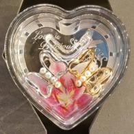 Tanzania  Love Is Dreamous Heart Shape 3D Coin 2017 , Silver - Tanzanía