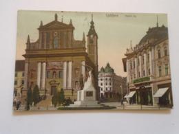 D168313 Slovenia  Ljubljana Laibach  Marijin Trg  PU 1909 - Slovenia