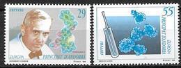 Andorre Espagnol 1994 N°227/228 Neufs Europa Découvertes - Spanisch Andorra