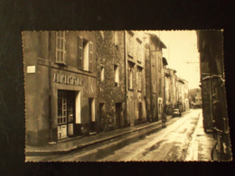 CPA 83 - LA ROQUEBRUSSANE - La Rue Principale - La Roquebrussanne