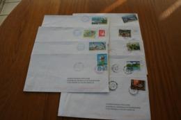 Polynésie Française: 9 Courriers Différents - Covers & Documents