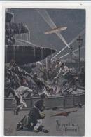 Zeppelin Kommt - Sign. Thiele         (190919) - Thiele, Arthur