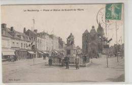 CPA   27  LE NEUBOURG PLACE ET STATUE DE DUPONT DE L EURE - Le Neubourg