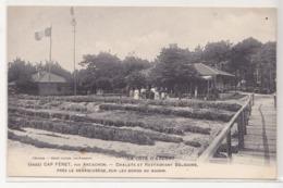 CPA CAP FÉRET, Par Arcachon - Chalets Et Restaurant Bélisaire, Près Le Débarcadère, Sur Les Bords Du Bassin - Arcachon