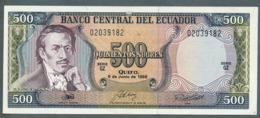P 124a - 500 SUCRES - 08/06/1988 -  Série GZ UNC N° 02039182 - Ecuador
