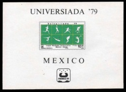 Foglietto - UNIVERSIADE MESSICO 1979 - 10 Peso - Messico