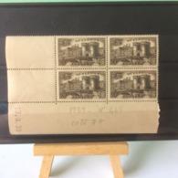 Timbres Neuf 1939 - N°445 - (Y&T) Coins Datés 13.6.1939 - Coté 7€ (Verdun) - Dated Corners