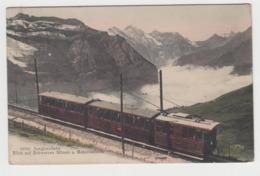 BB390 - SUISSE - JUNGFRAUBAHN - Blick Auf Schwarzen Monch U.Gspaltenhorn - BE Bern