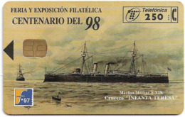 Spain - Telefónica - Filatelia'97 Crucero Infanta Teresa - P-290 - 10.1997, 6.000ex, Used - España