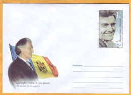 2019 Moldova Moldavie Vrabie  Artist, Designer, Book Illustrator, Author Of The Arms And Banknotes Of Moldova. - Moldawien (Moldau)