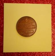 Ww1 RARE Jeton Fourni Par L'Allemagne En Exécution Traité De Versailles Marianne 11 Gr Diam 2.2cm Cu Rouge Numista Ind97 - 1914-18