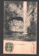 Luzern - Löwendenkmal - 1903 - Single Back - LU Lucerne