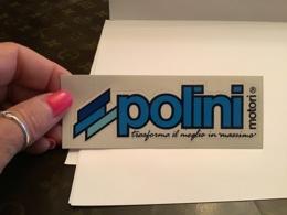 Autocollant Pollini - Autocollants