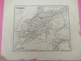 Carte Ancienne/ MAROC/Carte Géographique Du Pays/Carte Extraite De L'Afrique Française/ 1923  PGC373 - Mapas Geográficas