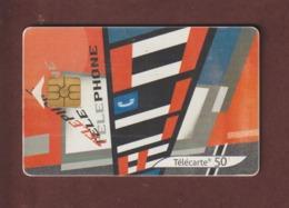 TELECARTE - Carte Téléphonique De 50 Unités - Série Courants Artistiques N°4  - 2 Scannes. - France