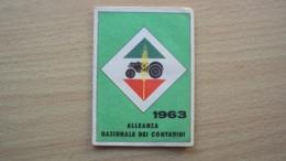 TESSERA RICONOSCIMENTO ALLEANZA NAZIONALE CONTADINI PORDENONE 1963 - Unclassified