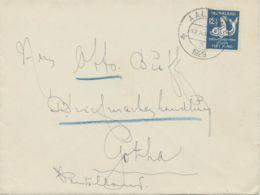 NIEDERLANDE1929, Children's Charity 12 1/2 (+ 3 1/2) C As Very Rare Single Postage Cover - Periode 1891-1948 (Wilhelmina)