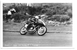 Carte-photo......Dutch T.T...Assen... John Surtees...(M.V Augusta)... - Sport Moto