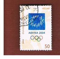 GRECIA (GREECE) - SG 2135  -  2000 OLYMPIC GAMES, ATHENS  - USED ° - Usati