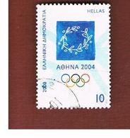 GRECIA (GREECE) - SG 2134  -  2000 OLYMPIC GAMES, ATHENS  - USED ° - Usati