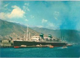 Paquebot SANTA ROSA Cie De Nav. GRACE LINE - Steamers