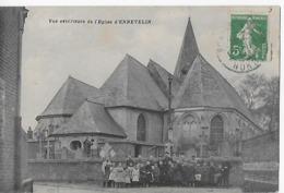 ENNEVELIN   Vue Extérieure De L'église 1913 - France