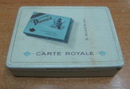AC - CARTE ROYALE DAVROS D. MISSIRIAN CIGARETTE - TOBACCO EMPTY VINTAGE TIN BOX - Tabaksdozen (leeg)