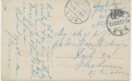 """NIEDERLANDE1914/5 3 Portofreie """"MILITAIR""""-Karten Aus HAARLEM, HELLEVOETSLUIS U. NIJMEGEN - Storia Postale"""