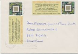 NIEDERLANDE1991 55 C December Stamp (Christmas Stamp) Twice Superb Cover PRE-RELEASE FDC - FDC