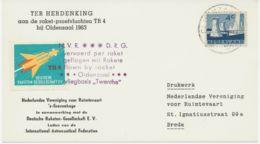 """NIEDERLANDE 1963, Kab.Raketen-Probeflug """"TR4"""" Bei OLDENZAAL, Niederlande - Luchtpost"""
