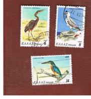 GRECIA (GREECE) - SG 1475.1478    - 1979 BIRDS    - USED ° - Grecia