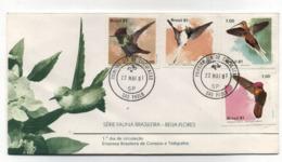 Brazil BIRDS FDC 1981 - FDC