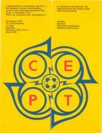 NETHERLANDS CEPT 1971, La Conférence Européenne Of The Administration Des Postes - Brieven En Documenten