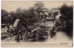 Auvers-sur-Oise (95) - Le Pont Détruit Par Le Génie Français (vue D'amont) - Auvers Sur Oise