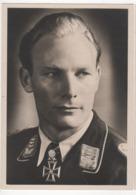 ° MILITARIA ° ALLEMAGNE ° Militaire Ayant Reçu La Croix De Fer ° Hauptmann BAUMBACH ° - Guerre 1939-45