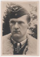° MILITARIA ° ALLEMAGNE ° Militaire Ayant Reçu La Croix De Fer ° Major LÜTZOW ° - Guerre 1939-45