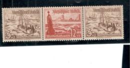 GERMANY1937:W132 Mnh** Cat.Value $8.00 - Zusammendrucke