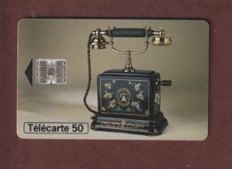 TELECARTE - Carte Téléphonique De 50 Unités - Téléphone Ericsson 1900  - 2 Scannes. - Francia