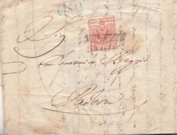 226 - LOMBARDO VENETO - 24 Giugno 1850  - Lettera Da Venezia A Padova Con Cent 15 Vermiglio Chiaro - 1° MESE D'USO - Lombardo-Veneto