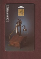 TELECARTE - Carte Téléphonique De 50 Unités - Téléphone Berliner 1910  - 2 Scannes. - Francia