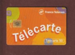 TELECARTE - Carte Téléphonique De 50 Unités - FRANCE TELECOM - 2 Scannes. - France