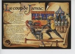 Le Coup De Jarnac 10 Jullet 1547 Sur Le Plateau De Saint Germain Devant Henri II : Sieur Chategneraie &  Guy Chabot - Histoire